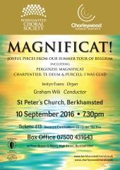 Magnificat poster Sep 2016